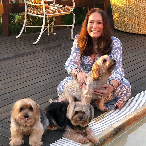 Susana Vieira com seus cachorros (Foto: Reprodução Instagram)