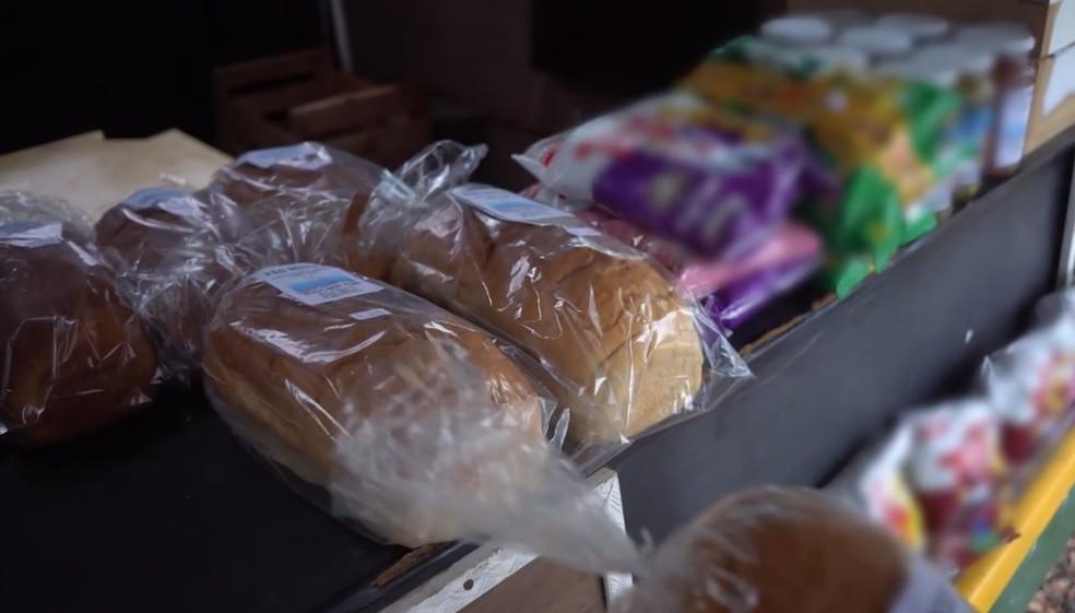 Pães e doces artesanais do Dr. Honesto — Foto: Globo