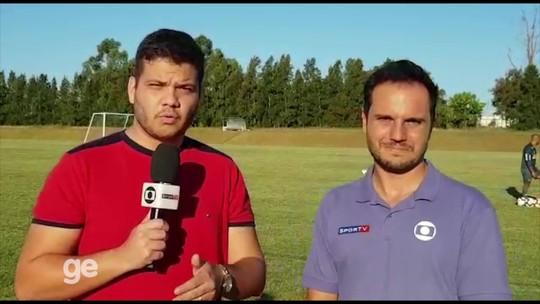 Luan confirma Atlético-MG sem surpresas e analisa inversões de lado com Chará no ataque