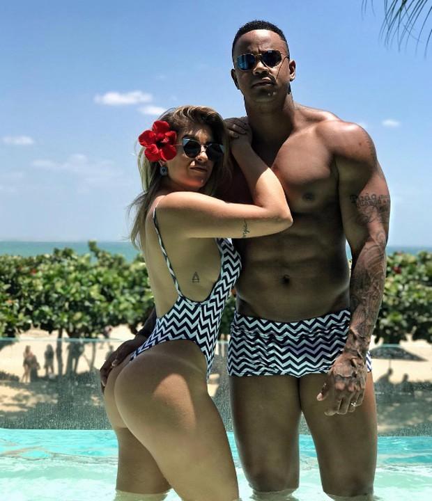 Léo Santana e Lorena Improta (Foto: Reprodução/Instagram)