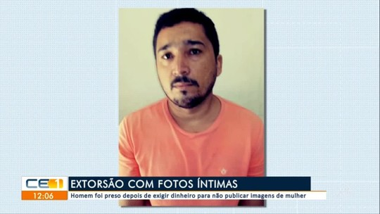 Homem se passa por mulher em aplicativo, obtém fotos íntimas de casal e é preso por extorsão no Ceará