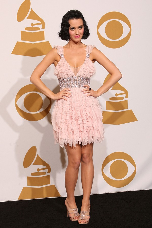 Katy Perry na 51ª cerimônia do Grammy em 2009 (Foto: Getty Images)
