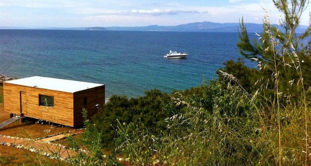 Tiny House na Grécia (Foto: Divulgação)
