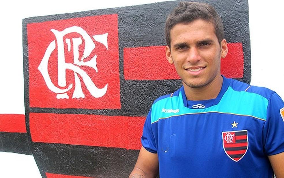 O meia Pedrinho foi eleito a Joia 2012 do Flamengo (Foto: Janir Junior/GloboEsporte.com)