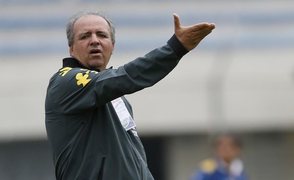 Vadão iniciou carreira de técnico no Mogi Mirim — Foto: Rafael Ribeiro/CBF