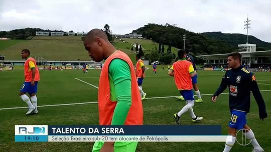 Seleção Brasileira Sub-20 tem atacante de Petrópolis