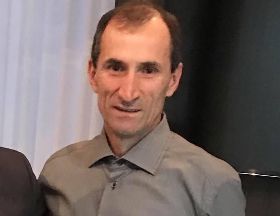 Jacir Potrich foi visto pela última vez em 13 de novembro — Foto: Arquivo pessoal