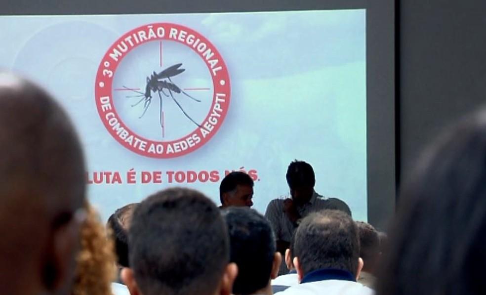 -  3º Mutirão Regional de Combate ao Aedes aegypti reúne 59 cidades do Sul de Minas  Foto: Reprodução/EPTV