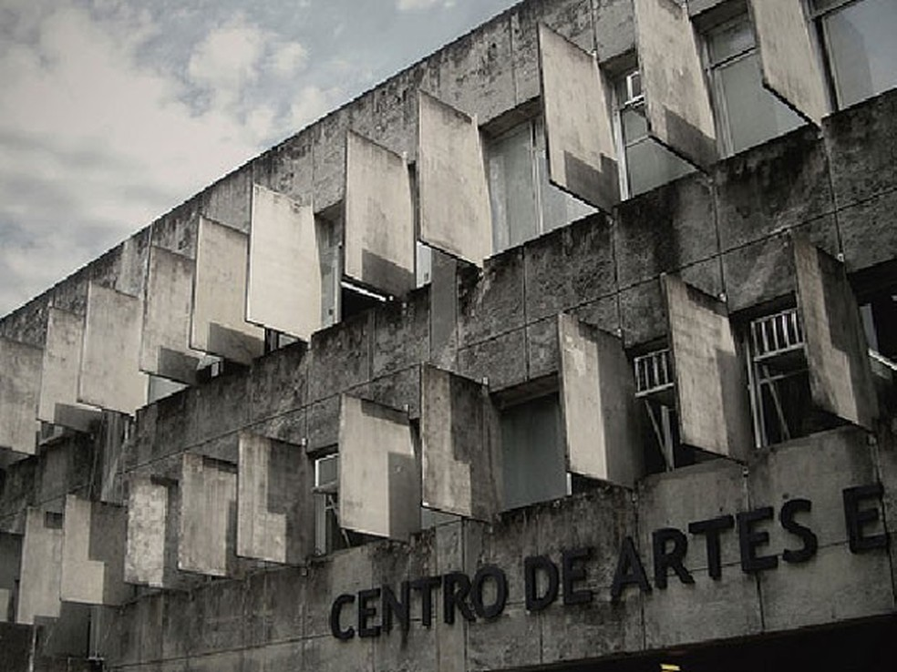 Centro de Artes de Comunicação (CAC) é um dos locais no campus Recife com vagas para professores (Foto: Diogo Milhomens / Acervo Pessoal)