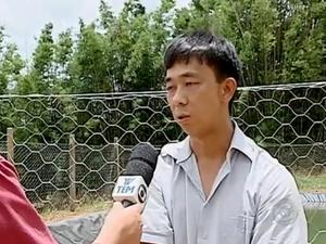 Agricultor inova com sistema de captação de água da chuva (Foto: Reprodução/TV TEM)