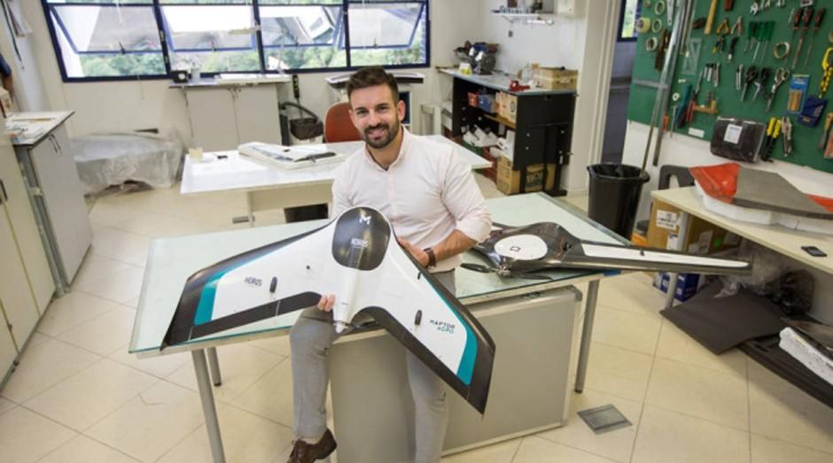 Drone da Hórus, de Fabrício Hertz, sai por pelo menos R$ 60 mil (Foto: Reprodução/Estadão Conteúdo)