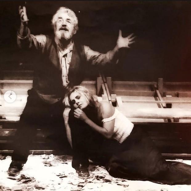 Ver Fischer relembra espetáculos no teatro (Foto: Reprodução/Instagram)
