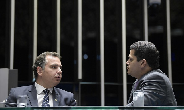 Rodrigo Pacheco e Davi Alcolumbre