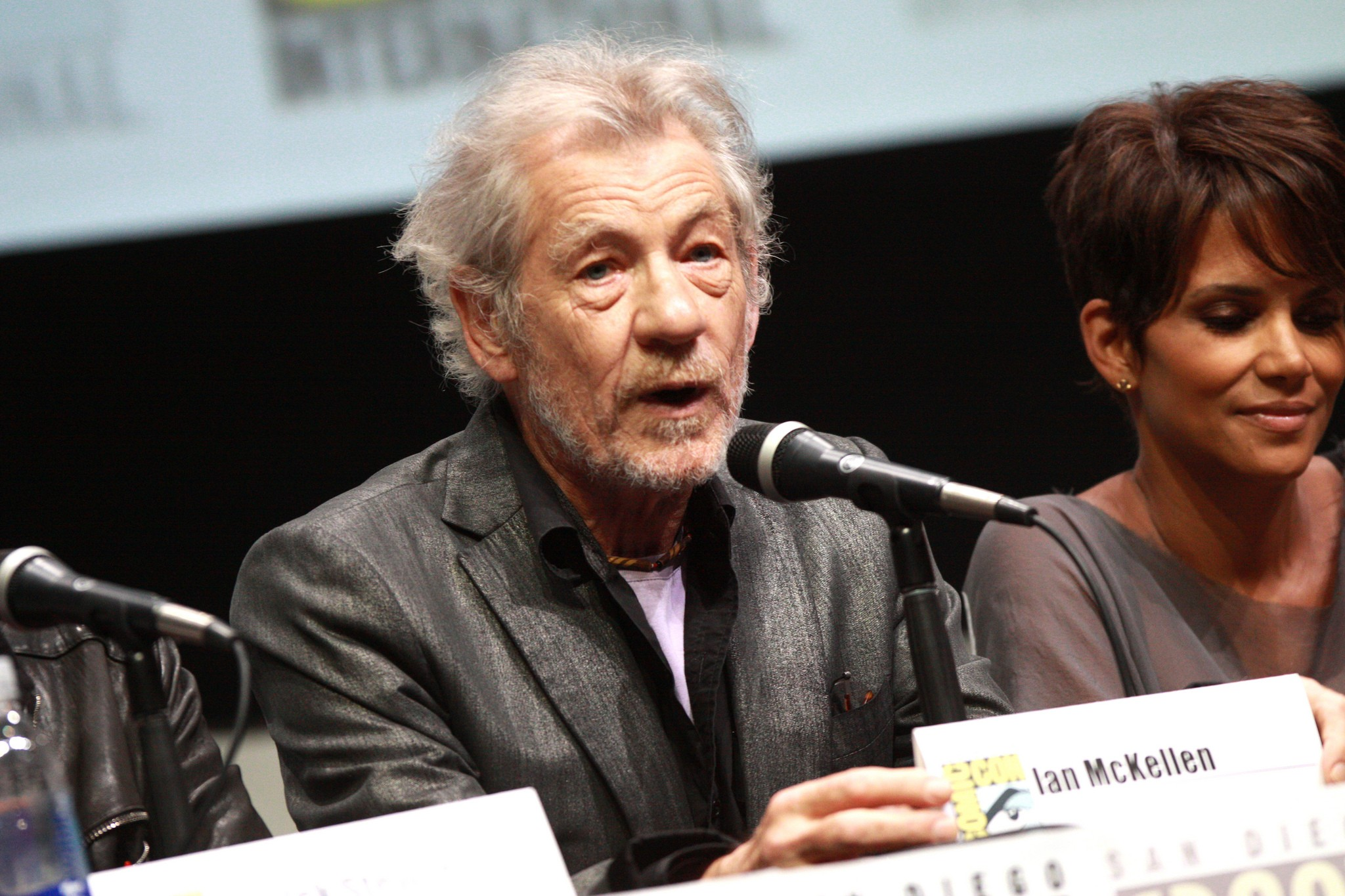Ian McKellen interpretou Gandalf e Magneto, dois dos favoritos do universo nerd (Foto: Flickr/Gage Skidmore)