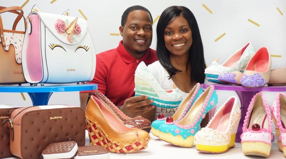 Chris e Esha Campbell, donos da Shoe Bakery (Foto: Divulgação)