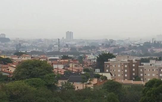 Inmet emite alerta de tempestades na região de Sorocaba