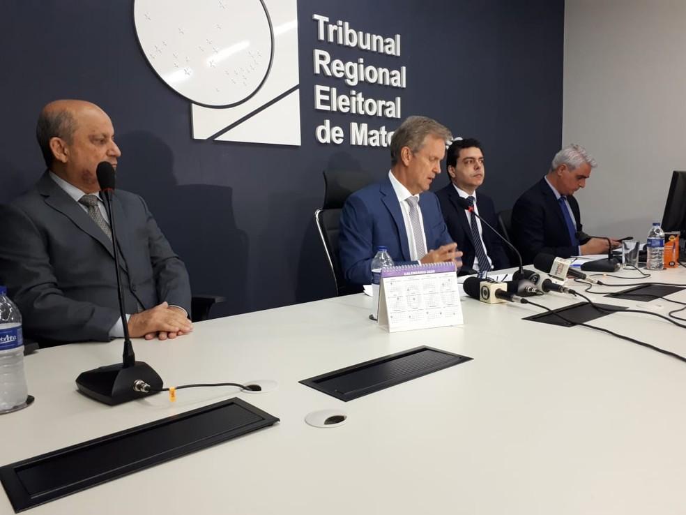 Tribunal anunciou nova eleição — Foto: Luiz Gonzaga Neto/TVCA