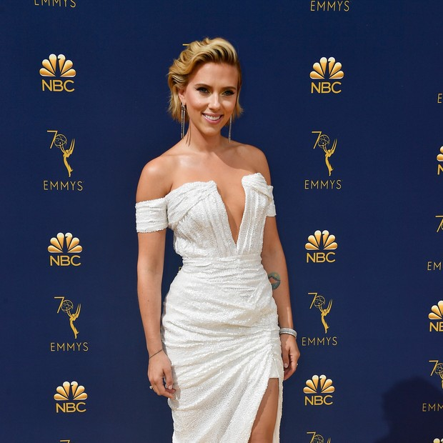 LOS ANGELES, CA - SEPTEMBER 17:  Scarlett Johansson attends the 70th Emmy Awards at Microsoft Theater on September 17, 2018 in Los Angeles, California.  (Photo by Frazer Harrison/Getty Images) (Foto: Getty Images)
