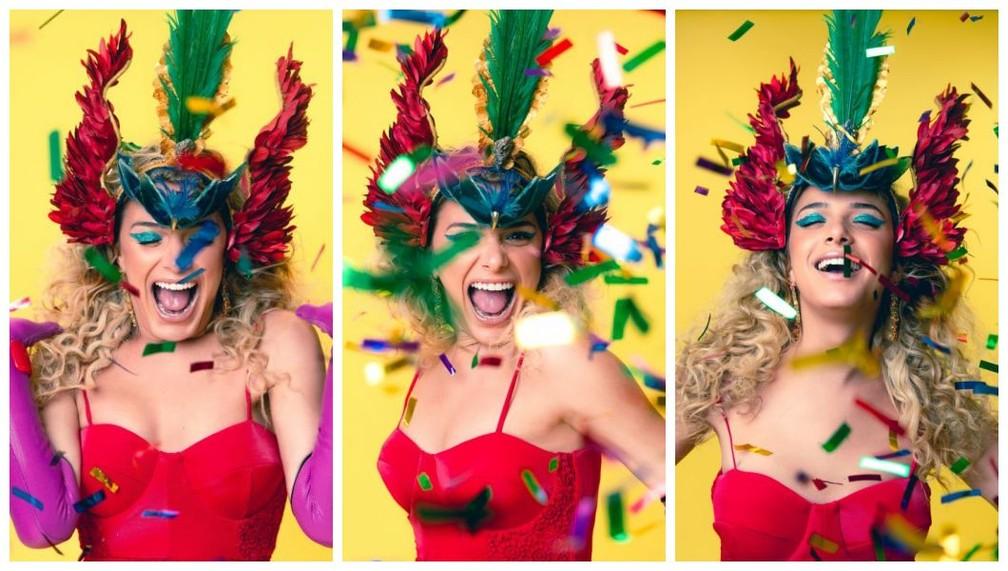 Glamour Garcia preparada para 'causar' na folia 2020  — Foto: Fabiano Battaglin/Gshow