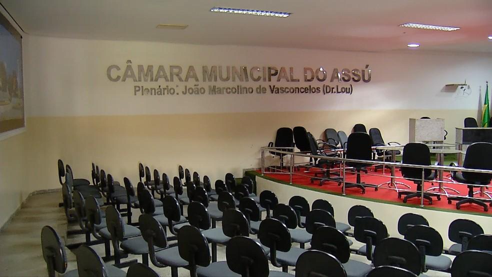 Setembro é um dos cinco meses de recesso na Câmara Municipal de Assu (Foto: Inter TV Cabugi)