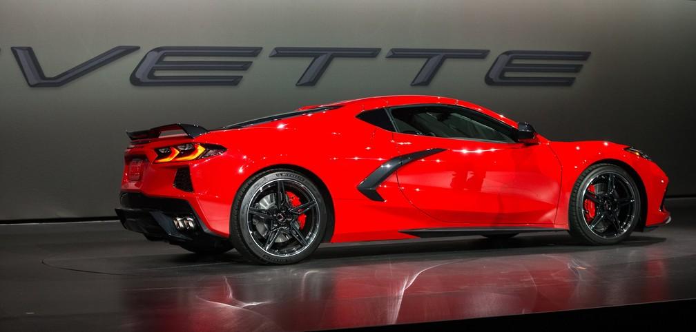 Chevrolet Corvette Stingray — Foto: Chevrolet/Divulgação