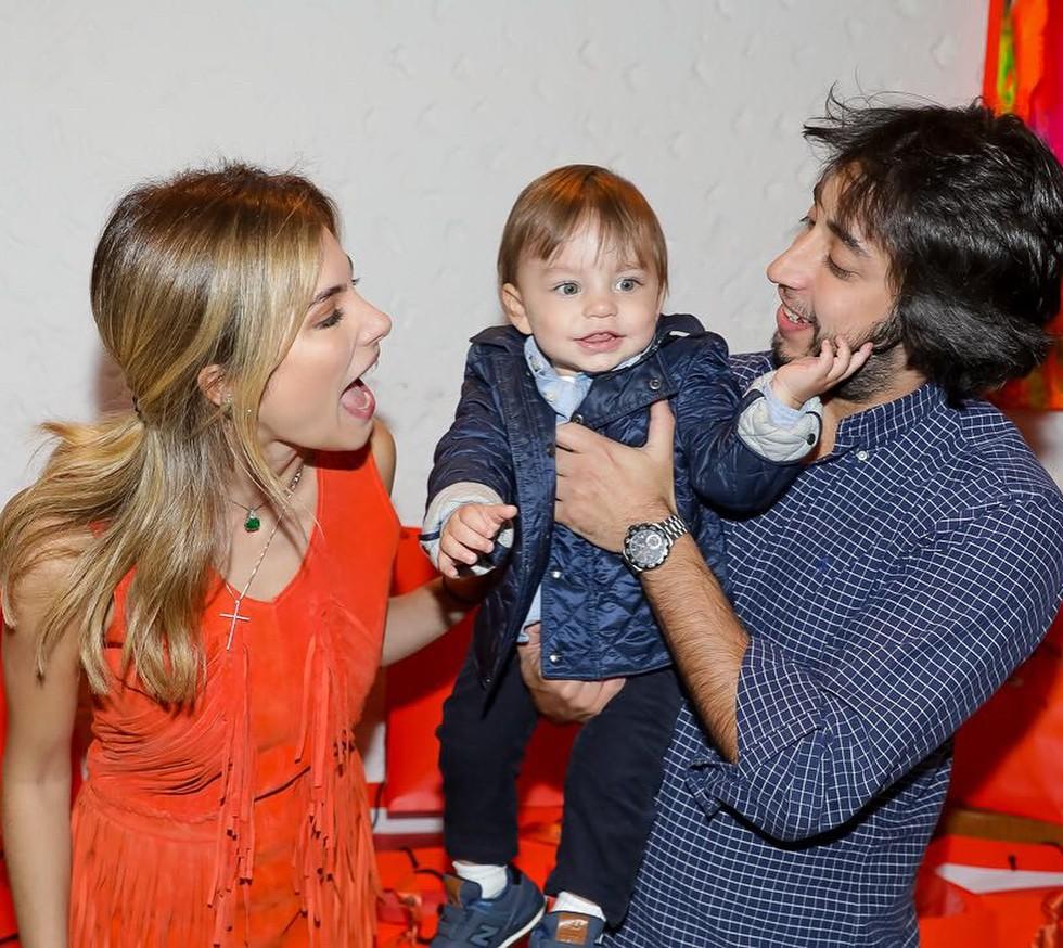 Bruna Hamú, Julio e Diego (Foto: Reprodução/Instagram)