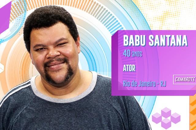Babu Santana estará no 'BBB' 20 (Foto: TV Globo)