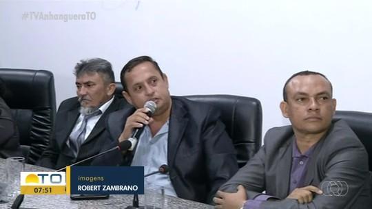 Vereadores investigados por corrupção voltam a participar de sessões na Câmara de Augustinópolis
