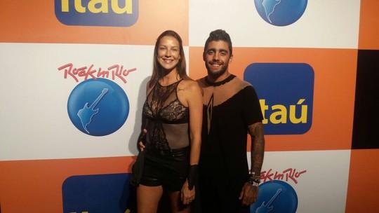 Luana Piovani sobre vestido de Pedro Scooby no Rock in Rio: 'Veio de menina'