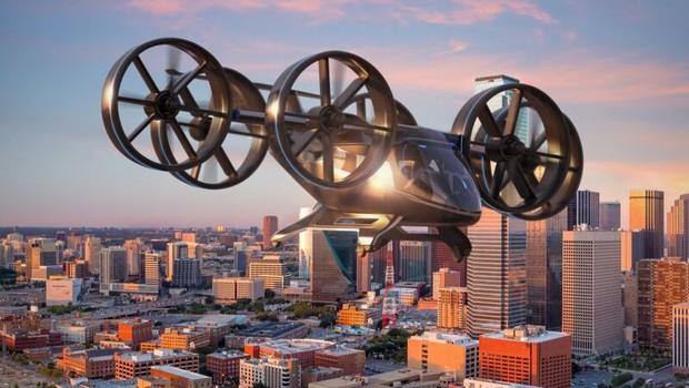 Projeto de carro voador Bell Nexus (Foto: Divulgação)
