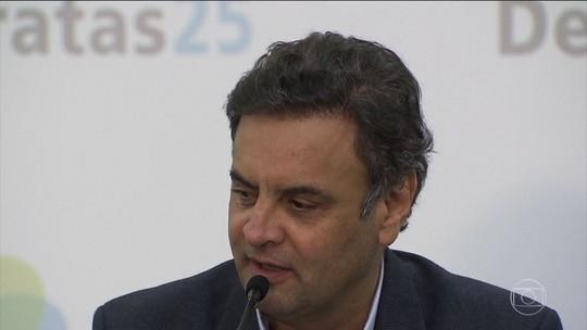 Moraes diz sobre Aécio que Senado deve 'arcar com as consequências'