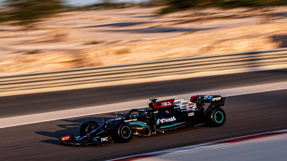 Lewis Hamilton venceu seis dos últimos sete títulos da F1  — Foto: Divulgação Mercedes