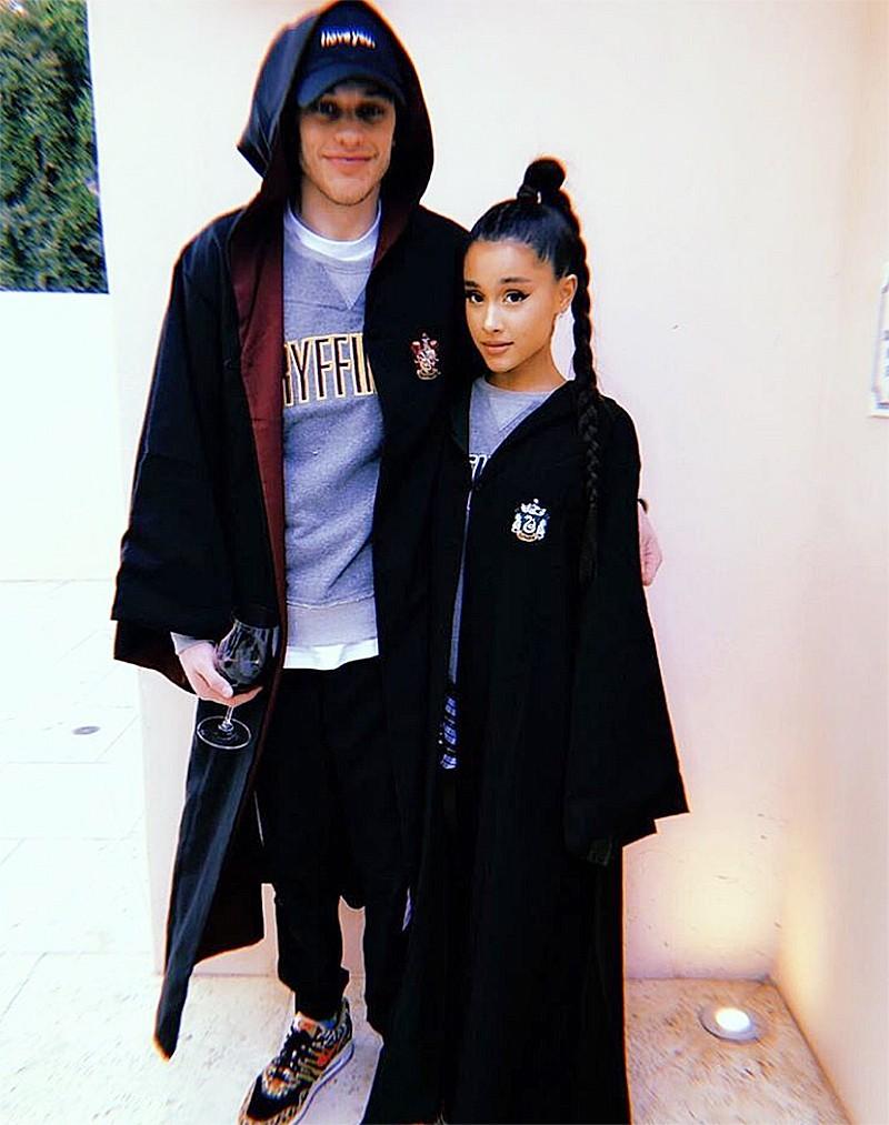 Ariana Grande e Pete Davidson (Foto: Instagram)
