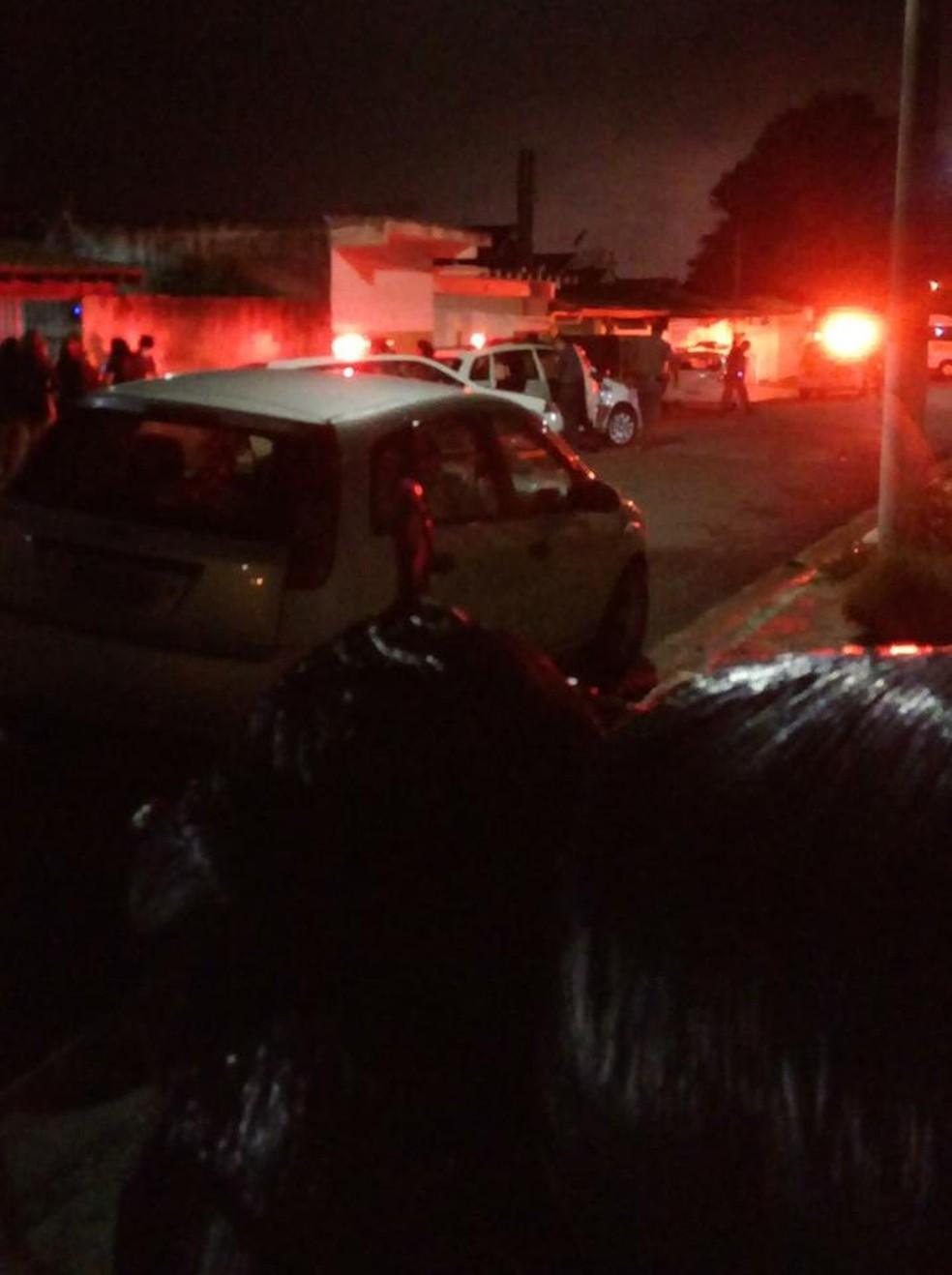 Dois são mortos e três baleados em ação de criminosos em Pindamonhangaba — Foto: Arquivo Pessoal