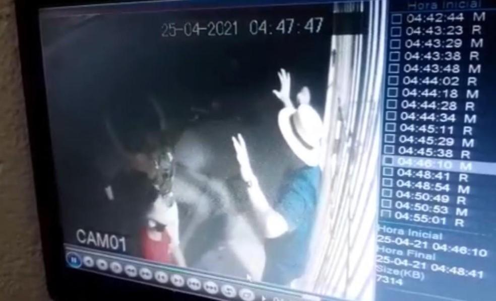 Policial civil é rendido e morto com tiro na cabeça em assalto na Grande Natal — Foto: Reprodução