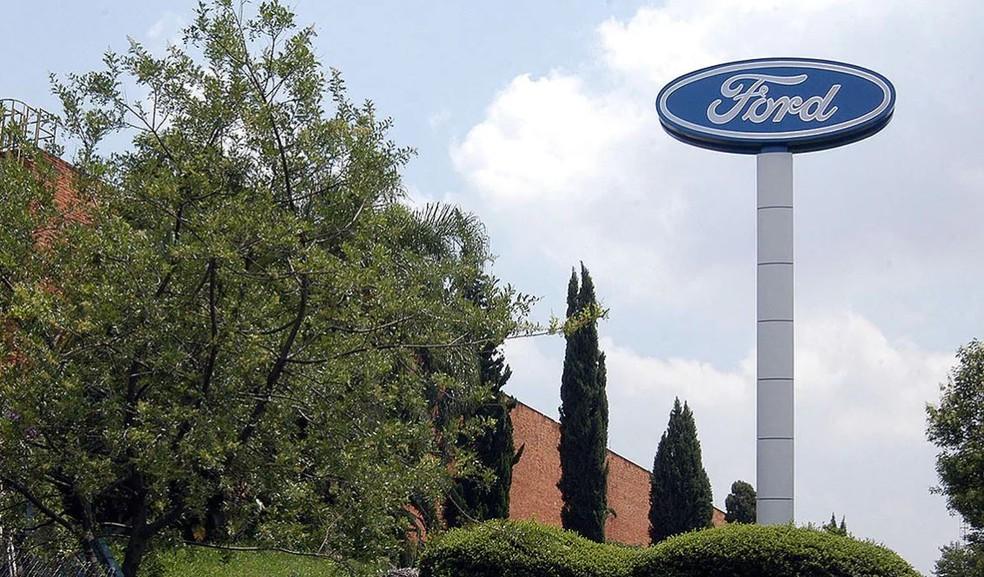 Fachada da fábrica da Ford em São Bernardo — Foto: Divulgação