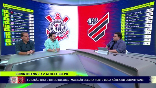 Fla ofusca o brilho do Athlético-PR
