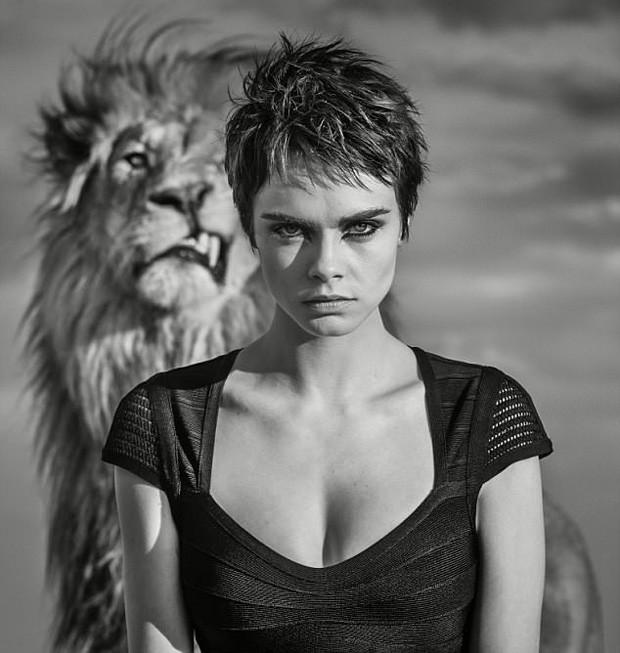 Cara Delevingne (Foto: David Yarrow)