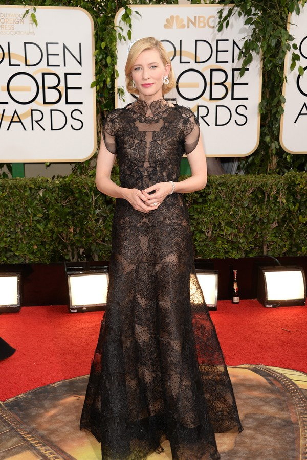 Cate Blanchett no Globo de Ouro 2014 (Foto: Getty Images)