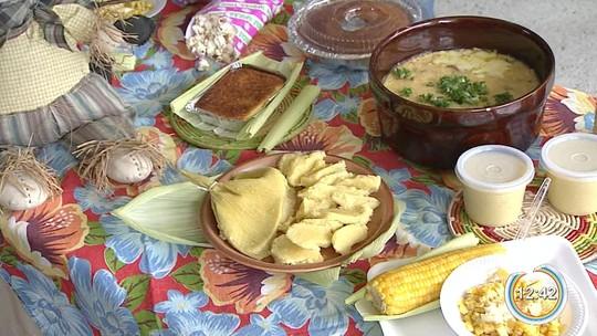 Festa da pamonha é atração em Jacareí, SP
