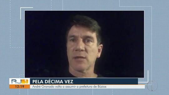 André Granado reassume Prefeitura de Búzios, RJ, pela décima vez