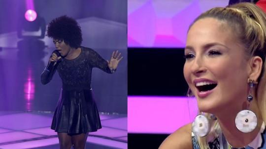 Mylena Jardim se derrete pela ex-técnica Claudia Leitte: 'Maravilhosa e ótima artista'