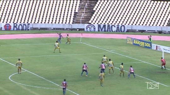 Com tranquilidade, Maranhão goleia o Santa Quitéria e volta ao G-4 do Estadual