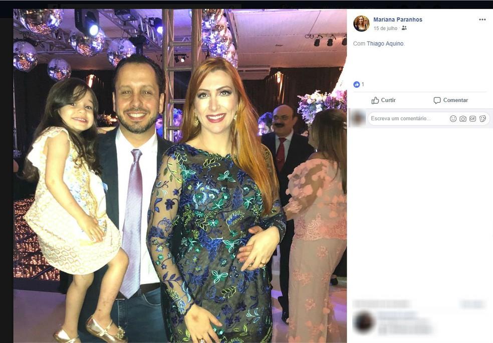Médica pediu socorro antes de ser assassinada a facadas pelo esposo em Araguari — Foto: Reprodução/Facebook