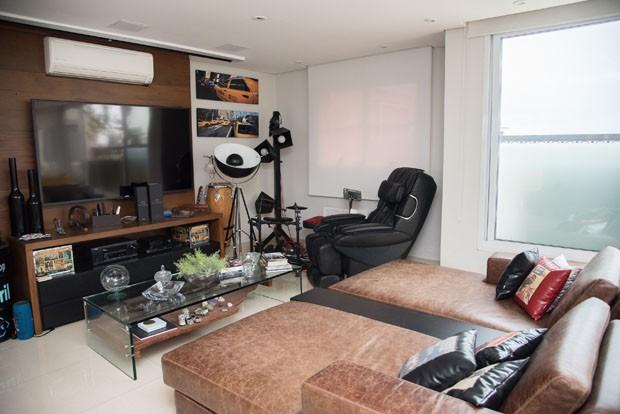 Conheça o novo apartamento de Henri Castelli em São Paulo (Foto: Carla Albuquerque)
