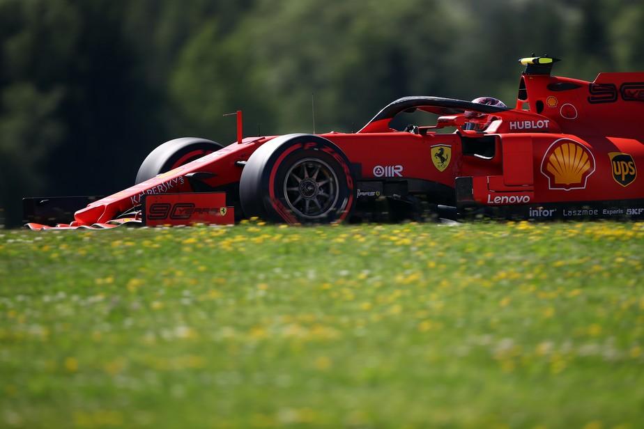 GP da Áustria: Charles Leclerc repete domínio e supera dupla da Mercedes no terceiro treino livre