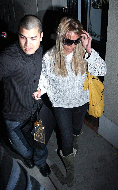 Fernando Flores foi segurança de Britney Spears por 8 meses (Foto: Getty Images)