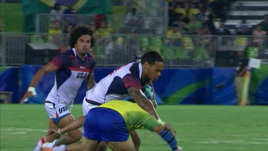 Brasil perde para os Estados Unidos por 26 a 0 pelo rúgbi masculino