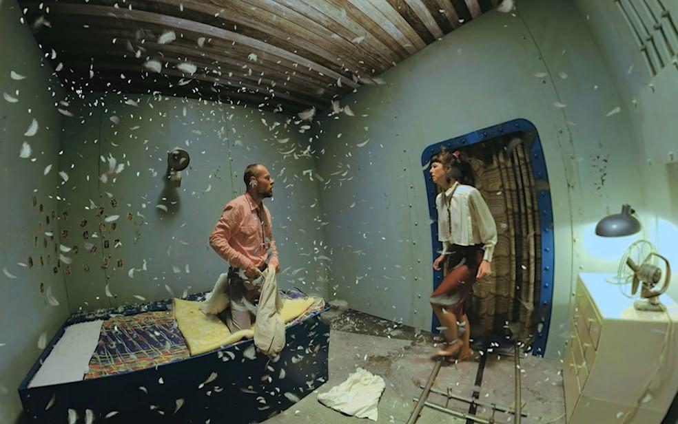 Cena do filme 'Ashes do Ashes' em realidade virtual faz parte da programação da 6ª edição do festival Curta Brasília (Foto: Curta Brasília/Divulgação)