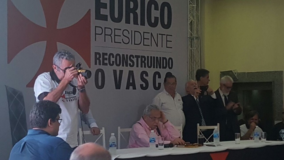 Eurico Miranda, Vasco (Foto: Felipe Schmidt)